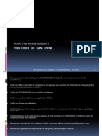 GU_SAP ECC_Procédure de lancement