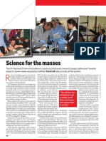 Science for the Masses