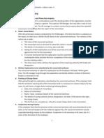 Procedure of Domestic Enquiry