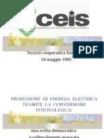 Fotovoltaico Diffuso Ceis Stenico