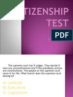 Citizenship Test 3