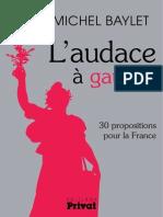 Programme Parti Radical de Gauche JMBaylet