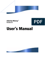 User's Manual Adarian Money 5