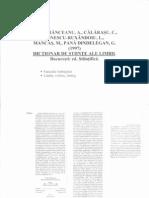 Bidu-Vranceanu - Dictionar de Stiinte Ale Limbii