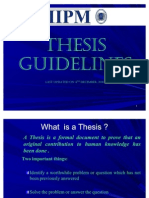 Thesis Guidelines Dec New