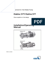Etabloc Syt Operating Instructions
