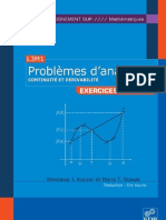 Problemes d Analyse 2