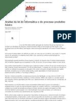 PartnerSales - Análise da lei de informática e do processo produtivo básico