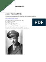 740th James Thomas Davis