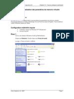 Personnalisation des paramètres de mémoire virtuelle