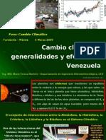 Cambio Climatico General Ida Des y Efectos