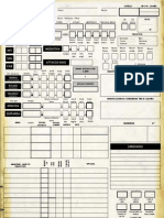 D&D 3e (Ita) - Utility - Scheda 5 Pagine