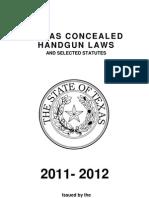 Concealed Handgun Laws