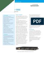 Time Provider 5000 Datasheet