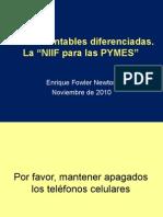 Normas Contables Diferenciadas Fowler Newton