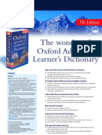 Oxford Dictionaries Catalogue