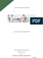 Proyecto Direccion de Grado Octubre Yanivy