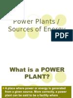 Power Plants Present