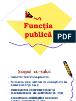 Funcţia publică