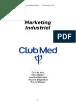 Marketing Industriel Club Med Finiii