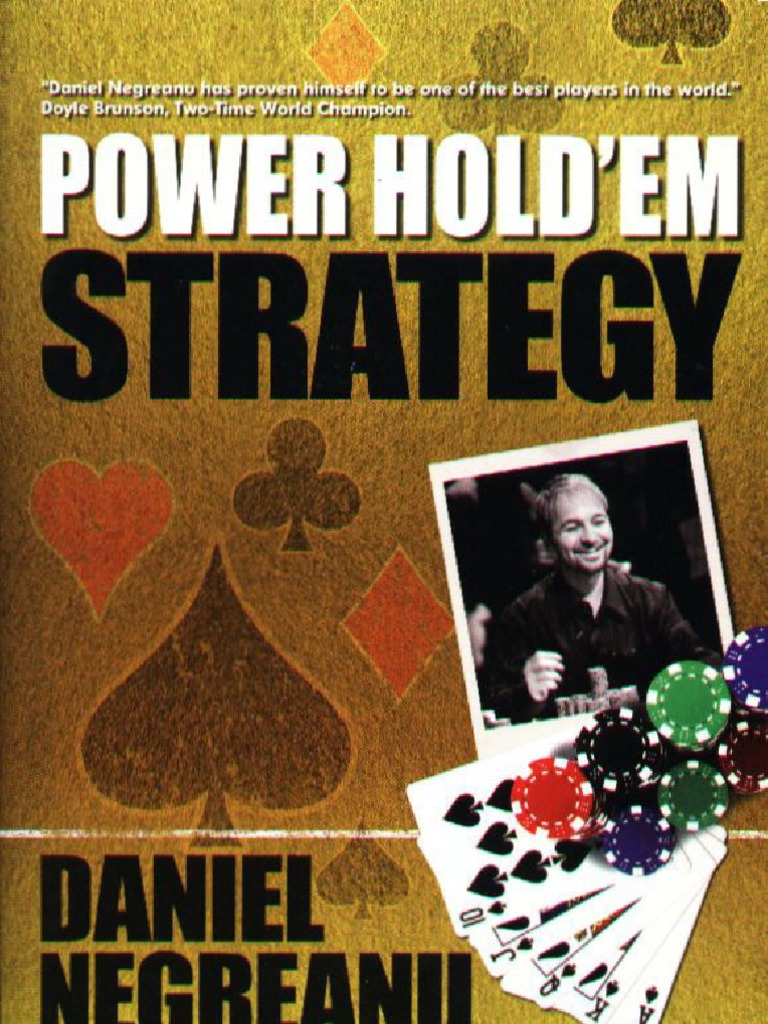 Daniel negreanu poker strategy pdf song from hangover blackjack scene