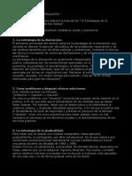 10 Estrategies de manupulació