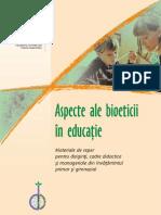 Aspecte Ale Bioeticii Educatiei