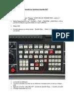 Réglage Position 1 de la tourelle sur machines Hyundai SKT