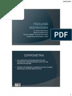 RM - Fisiologia Respiratoria Ppt