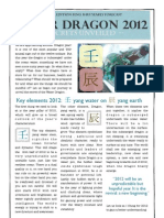 Forecast 2012 for the Year of the Water Dragon