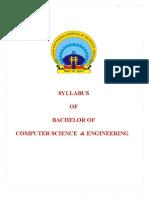Syllabus Btech Cse