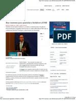 21-01-12 Hay Consenso Para Apuntalar y Fortalecer al FMI