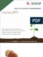 SSBM Placement Brochure 2011-12
