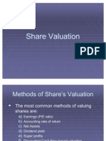 Share Valuation