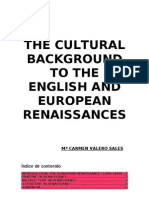 Introduction to the English and European Renaissances