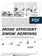 More Efficient Snow Removal - Mad 070 - 1962