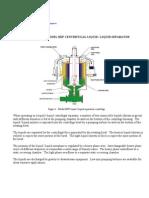 Liquid Liquid Separator Operating Principle