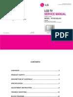 Service Manuals LG TV LCD RT20LA33 RT-20LA33 Service Manual
