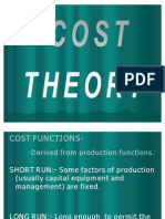 Cost Theory