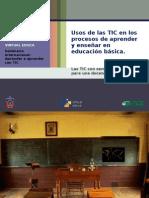 110622_Usos de las TIC en los procesos de aprender y enseñar en educ básica