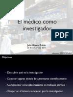 El médico como investigador