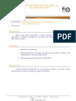 BD029-Mantenimiento de Una Base de Datos en SQL Server 2008