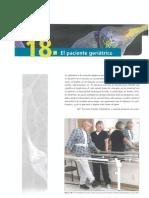 18. El paciente geriatrico