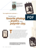 Art Jewelry Polymer 01071
