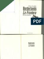 Anzaldua Borderlands Chapter 1-7