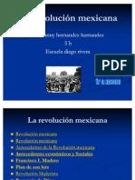 La revolución mexicana de geovanny
