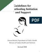 Breast Feeding Guidelines