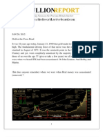 Gold Outlook Report 20 Jan 2012