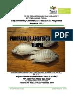 Programa de Trabajo y Extensionismo Rural 2011