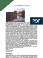Pedoman Teknis Konservasi Air Melalui Pembangunan Embung